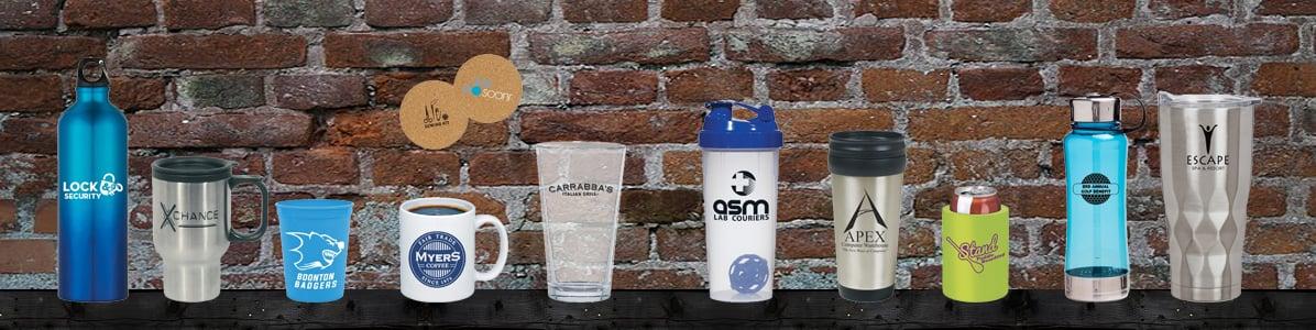 Bottles, Tumblers & Mugs
